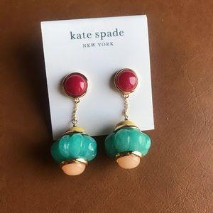 Kate Spade confection drop earrings